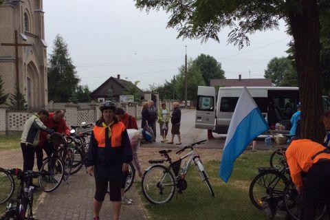 Pielgrzymka rowerowa z Białorusi